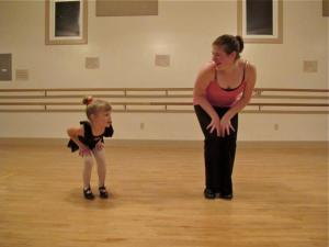 Miss Jordyn with a tiny dancer